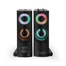Актив.<b>колонки</b> 2.0 <b>CBR CMS</b>-<b>514L</b> 6Вт, питание от USB, RGB ...