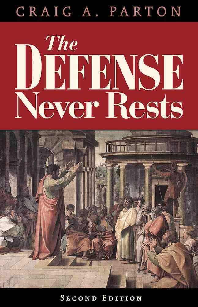 Image result for The Defense Never Rests: A Lawyer Among the Theologians Craig A. Parton