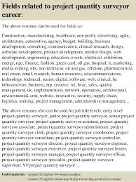 Quantity surveyor cover letter sample       results   Career FAQs