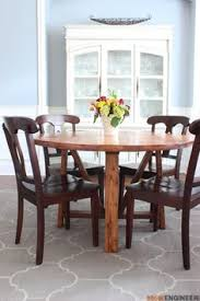 dining table free diy plans rogue