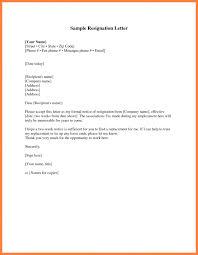 resignation letter format easy way short notice resignation example resign letter resignation letter sample weeks notice how resignation letter short