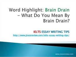 an essay on brain drain   write my   solution  write an essay on brain drain   english   studypool