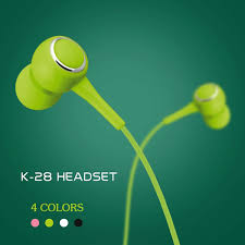 <b>K28 In-Ear Earphones</b> Fashion Stereo Bass Headphones With ...