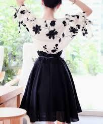 Blouse plus Dress, <b>Korean Style Women Chiffon</b> Suit, Buy One Get ...