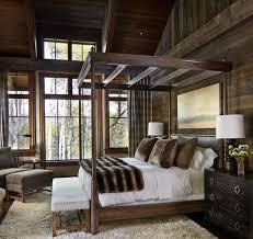Rustic Cabin Bedroom Decorating Interior Designs Impressive Rustic Lodge Cabin Home Decor Rustic