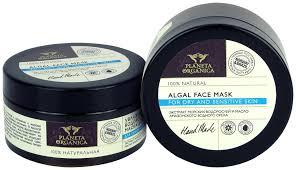 Увлажняющая <b>водорослевая маска для лица</b> (Planeta Organica ...