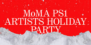 moma ps1 night at the museum artists holiday party friday artists holiday party
