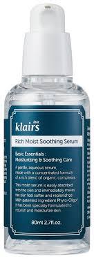 Klairs Rich Moist Soothing <b>Serum</b> Увлажняющая и <b>успокаивающая</b> ...