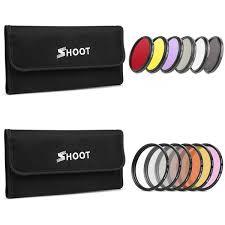 Fashion <b>6PCS</b> 52 <b>58mm</b> ND2 <b>CPL UV</b> Gopro hero 5 6 Black Filter ...