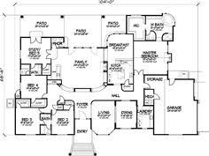 bedroom one story house plan   exercise room  office       bedroom one story house plan   exercise room  office  formal living  family room   Bing Images   For the Home   Pinterest   One Story Houses