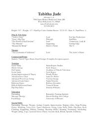 skills to put on acting resume resume examples  skills to put on acting resume