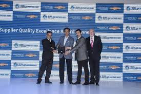automotive parts manufacturing industry in supplier quality excellence award by general motors