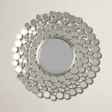 mirror wall decor circle panel: kentwood round wall mirror varick gallerycae kentwood round wall mirror