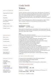resume example   curriculum vitae resume sample for waitress no        curriculum vitae resume sample for waitress no experience curriculum vitae resume sample for waitress no experience
