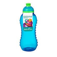 Купить <b>Бутылка для воды</b> Sistema Hydrate Twist 'n' Sip 330мл <b>Blue</b> ...