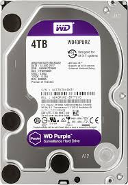 Купить <b>Жесткий диск WD</b> Purple WD40PURZ в интернет ...