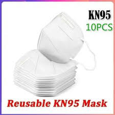 10PCS KN95 Face Mask Dust Mask Anti Pollution Masks ... - Vova