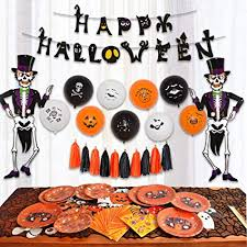 <b>85 pcs Halloween</b> Party Supplies Fun Party Favor <b>Decorations</b> ...
