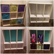 Room essentials 9 cube <b>storage shelf</b> converted into school bag ...