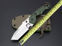 Tactical Straight Knife Fixed Blade Hunting <b>Adventure Rescue</b> Knife ...
