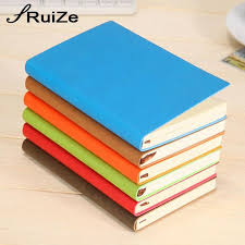 ruize office stationery leather spiral notebook hard cover a5 daily planner note book can be refilled