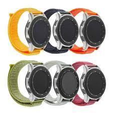 <b>22mm</b> Magic <b>Nylon Loopback</b> Watch <b>Band Strap</b> for Samsung gear ...