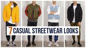 7 <b>Casual</b> Streetwear Outfits for Fall <b>2019</b> | Outfit Ideas | <b>Men's</b> ...