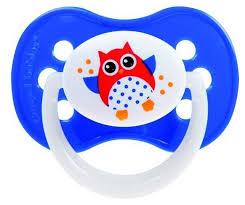 <b>Пустышка силиконовая анатомическая</b> Canpol Babies Owls 18+ ...