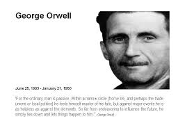 George Orwell       Big brother watching you  Data Privacy and securi
