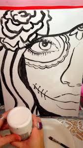 ArtNight - <b>Mexican Skull</b> Timelapse | Facebook
