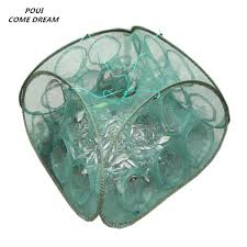 2019 <b>Shrimp Cage 5/9</b> Holes Fishing Network Loach <b>Cage</b> Fishing ...