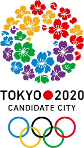 Image result for simple logo for the next Summer Olympic Games japan