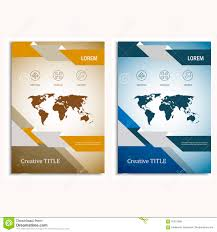 annual report brochure flyer design template vector map design annual report brochure flyer design template vector map design cover template royalty stock