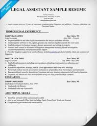how to write a paralegal resume including samples   paralegalism    legal assistant resume sample