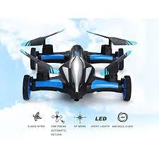 Blexy RC Car Flying Electric Vehicle <b>2.4Ghz</b> RC Drone Remote ...
