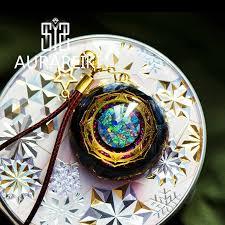 <b>Orgonite</b> Energy Reiki <b>Stone Necklace Pendant</b> Good Luck Bringer's ...