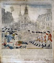 johnny tremain writework this engraving by paul revere portraying the boston massacre a patriot s bias shows