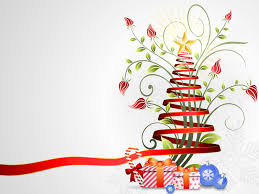 ribbon christmas ppt backgrounds for your powerpoint templates ribbon christmas backgrounds
