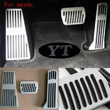 auto gas accelerator pedal brake pedal for toyota corolla 2014 2017 car styling auto accessories