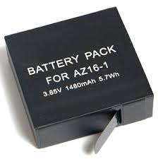 <b>Аккумулятор Fujimi</b> 2AZ16-1 для Xiaomi <b>YI</b> 2 (1480 mAh)..