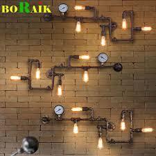 <b>Настенный светильник</b> в индустриальном винтажном стиле в ...