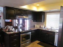 Grey Stained Kitchen Cabinets Colors For Kitchen Cabinets And Countertops Best Kitchen