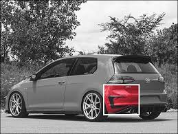 ECS News - <b>New</b> ECS MK7 GTI <b>Carbon Fiber</b> Rear Bumper Flares