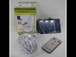 Фонарь лампа LED Светильник <b>Solar Led Light</b> KINGBLAZE GD ...