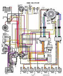 omc marine ignition switch wiring diagram mastertech marine evinrude johnson outboard wiring diagrams v 6 motors 150 175 hp 1986