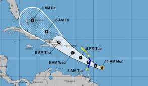 Tropical Storm Dorian could become a hurricane tomorrow with a ...