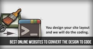 Best Online Websites to convert the Design to Code