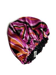 Raspberry Beret <b>Reversible Satin Bonnet</b>