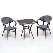 <b>Комплект мебели Афина</b> 2+1 искусственный ротанг