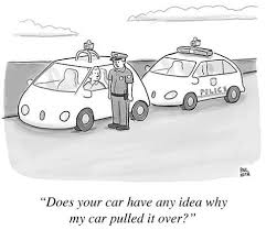 Image result for driverless Lorries cartoon
